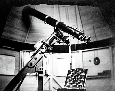 Brodie Photograph - Equatorial Telescope by Royal Astronomical Society