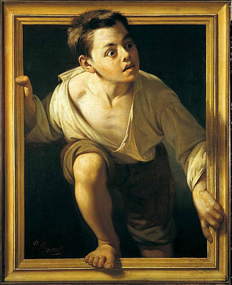 Escaping Criticism Print by Pere Borrell del Caso