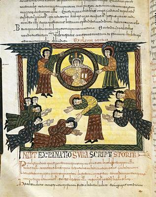 Escorial Beatus. 950 - 955. Cod & II Art Print by Everett