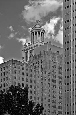Esperson Buildings Houston Tx Art Print