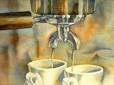 Espresso Painting - Espresso by Thomas Habermann