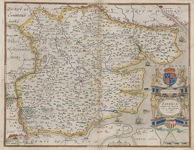 Cartography Photograph - Essex by British Library