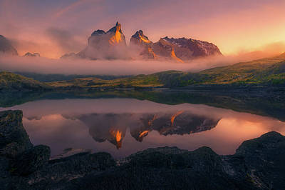 Patagonia Photograph - Eternity by Chris Moore