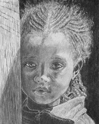 Drawing - Ethiopias Future by Quwatha Valentine