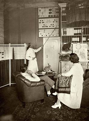 Eugenics Photograph - Eugenics Lecture by American Philosophical Society