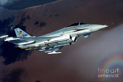 Aircraft Photograph - Eurofighter  by Paul Fearn