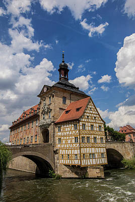 Bamberg Photograph - Europe, Germany, Bamberg, Altes by Jim Engelbrecht