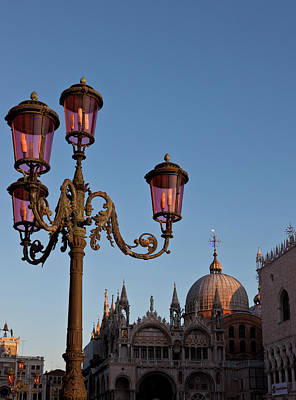 Piazza San Marco Photograph - Europe, Italy, Venice by Jaynes Gallery
