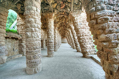 Antoni Gaudi Wall Art - Photograph - Europe, Spain, Catalonia, Barcelona by Rob Tilley