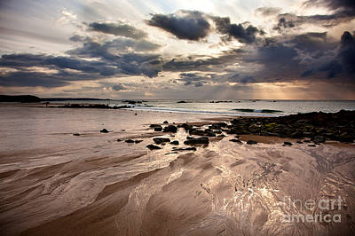 Sea View Photograph - Evening At The Sea by Nailia Schwarz