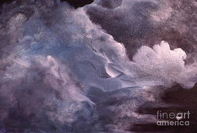 Painting - Evening Clouds by Myra Maslowsky