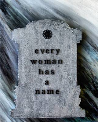 Painting - Every Woman Has A Name by Angelina Vick