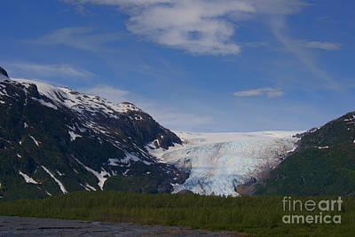 Photograph - Exit Glacier by David Arment