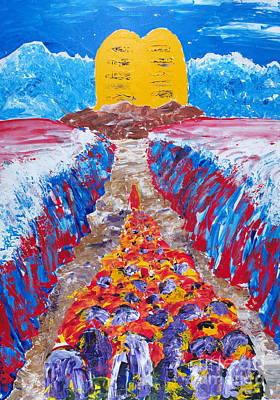 Painting - Exodus by Walt Brodis