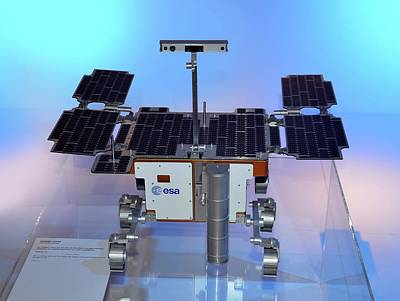 Outer Space Photograph - Exomars Rover by Detlev Van Ravenswaay