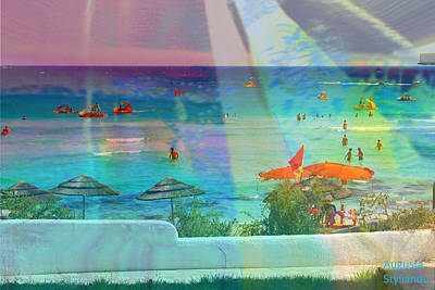 Digital Art - Exotic Beach by Augusta Stylianou