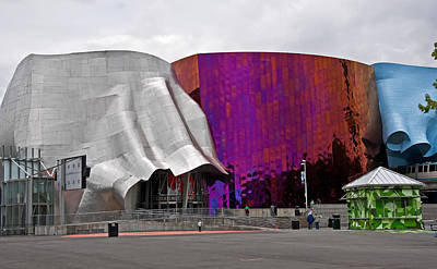 Photograph - Experience Music Project Emp  by Valerie Garner