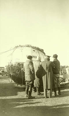 Civilians Photograph - Explorer II High-altitude Balloon by Us National Archives