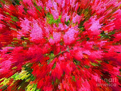 Explosion Of Spring Art Print