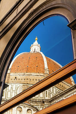 Exterior Of The Cathedral Santa Maria Art Print by Nico Tondini