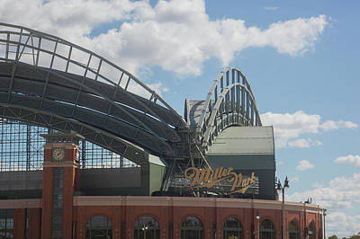 Miller Park Photograph - Exterior View Of The Miller Park by Panoramic Images