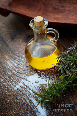 Extra Virgin Olive Oil  Art Print by Mythja  Photography