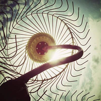Rake Digital Art - Eye Harvest by Natasha Marco