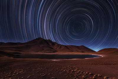 Volcano Photograph - Eye In The Sky by Adhemar Duro