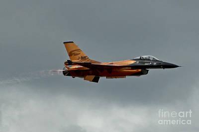 F-16 Digital Art - F16 Afterburner by J Biggadike