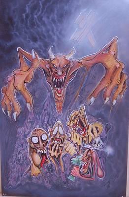The 5 Evil Spirits Art Print