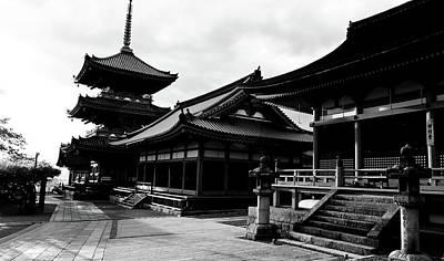 Facade Of A Temple, Kiyomizu-dera Art Print