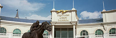 Facade Of The Kentucky Derby Museum Art Print by Panoramic Images