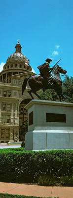 Facade Of The Texas State Capitol Art Print