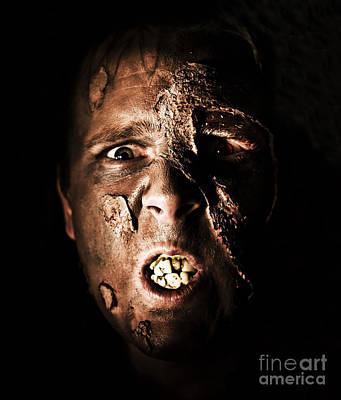 Crazing Photograph - Face Of Death by Jorgo Photography - Wall Art Gallery