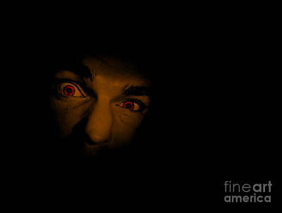 Peer Photograph - Face Of Evil by Jorgo Photography - Wall Art Gallery
