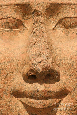 Goddess Mythology Photograph - Face Of Hathor by Stephen & Donna O'Meara