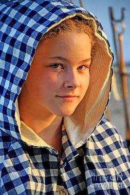 Colonial Actors Photograph - Faces 5 by John Langdon
