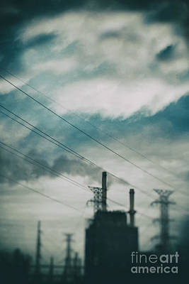 Oil Burner Photograph - Factory by Margie Hurwich