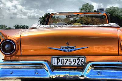Photograph - Fairlane by Perry Frantzman
