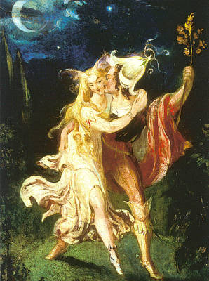 Digital Art - Fairy Lovers by Theodore Von Holst