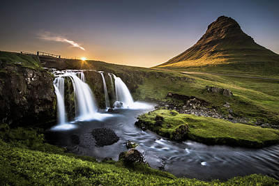 Waterfall Photograph - Fairy-tale Country by Andreas Wonisch