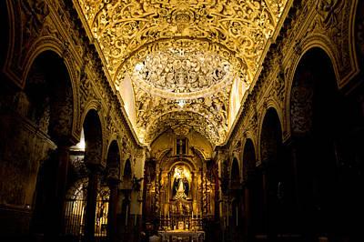 Religion Photograph - Faith Of Gold by Andrea Mazzocchetti