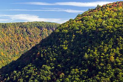 Photograph - Pennsylvania Grand Canyon Fall 2014 by Frank Morales Jr