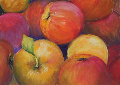 Painting - Fall Apples by Sharon Lewis