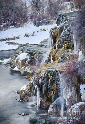 Photograph - Fall Creek by Idaho Scenic Images Linda Lantzy