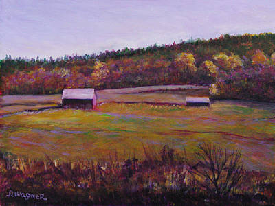 Painting - Fall Fields by Denise Wagner