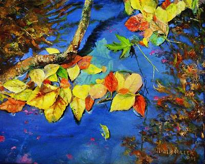 Wall Art - Painting - Fall Is Everywhere by Willis Miller