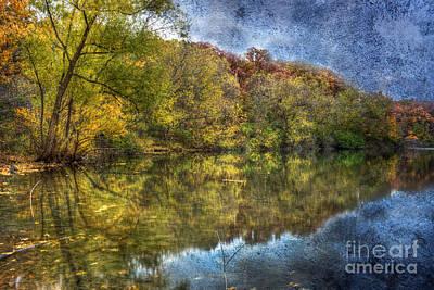 Fall Reflections Art Print by Scott Wood