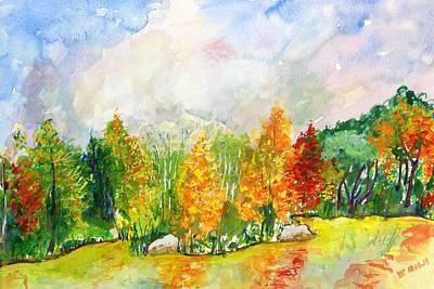 Painting - Fall2014-9 by Vladimir Kezerashvili