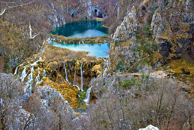 Photograph - Falling Lakes Of Plitvice National Park by Brch Photography